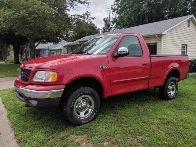 2002 Ford F150 For Sale >> Sold 2002 Ford F 150 Xlt 4x4