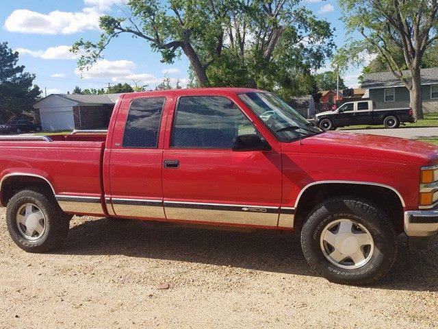Red Chevy Silverado >> Sold 1997 Chevy Silverado Z71 5 7 193k Miles Red