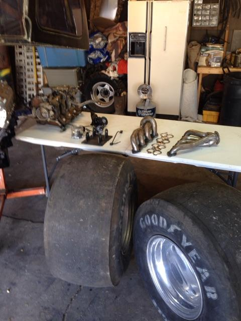 SOLD - Tubbed s10 drag race no motor