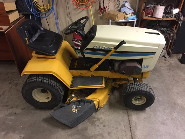 "Cub cadet 1330 38"" hydro riding mower"