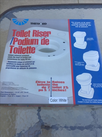 Pleasant Camper Toilet Riser Onthecornerstone Fun Painted Chair Ideas Images Onthecornerstoneorg