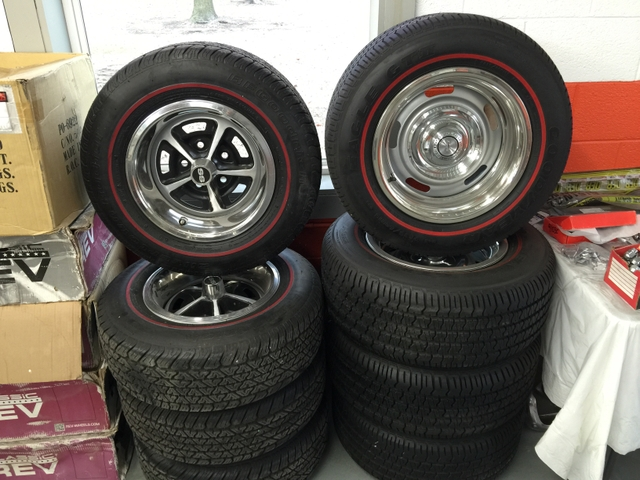 Red Line Tires >> Gm Rally Wheels And Redline Tires