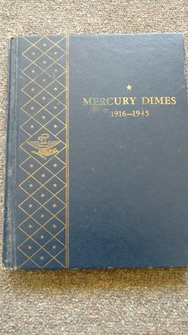 Mercury dimes 1916--1945