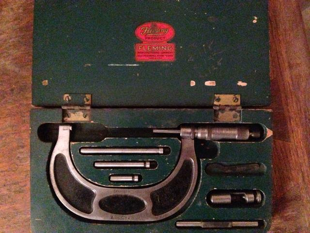 Fleming micrometer four in one
