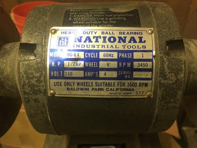 Marvelous Used Bench Grinder Caraccident5 Cool Chair Designs And Ideas Caraccident5Info