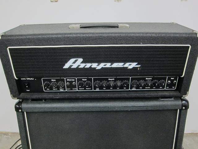 SOLD - Ampeg VH-140C 140 Watt 2 Channel Guitar Amp Head