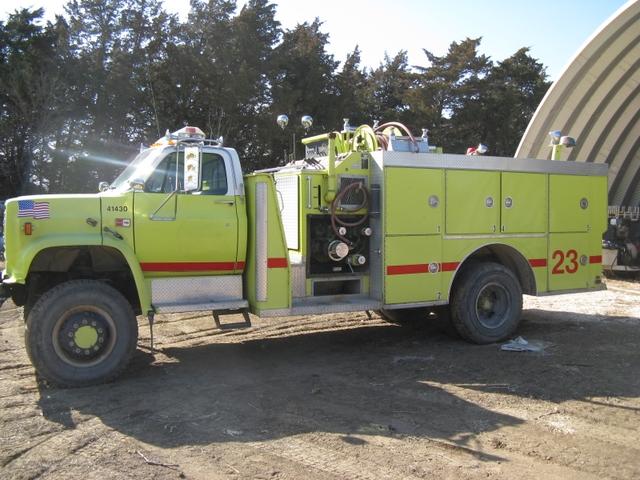 1985 Gmc Fire Truck