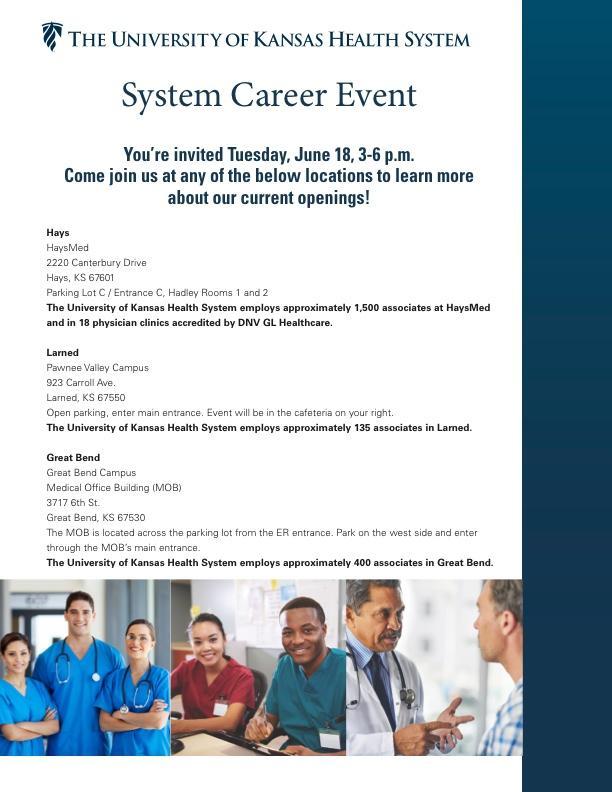 Career Event - June 18th! - Nex-Tech Classifieds