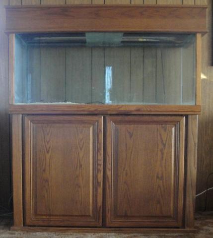 75 Gallon Oceanic Aquarium W Solid Oak