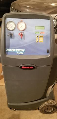 Robinair Ac Machine >> Robinair Ac Recovery System