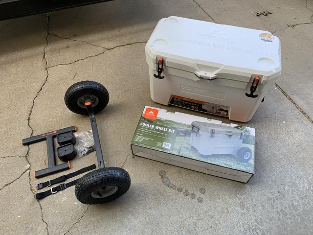 Ozark Trail Cooler Wheel Kit