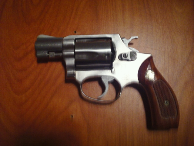 SOLD - 38 Special Smith and Wesson Snub nose revolver