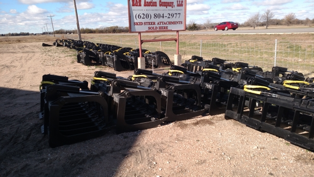 LOTS of Skid Steer/Skid Loader Attachments For Sale - Nex