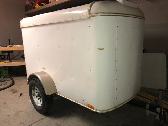 4x6 Enclosed Trailer >> 07 Enclosed Trailer 4x6 Nex Tech Classifieds