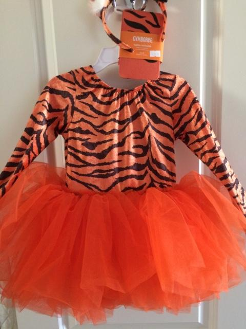 d7c13ba846 Girl's Gymboree Tiger Costume--Like New - Nex-Tech Classifieds