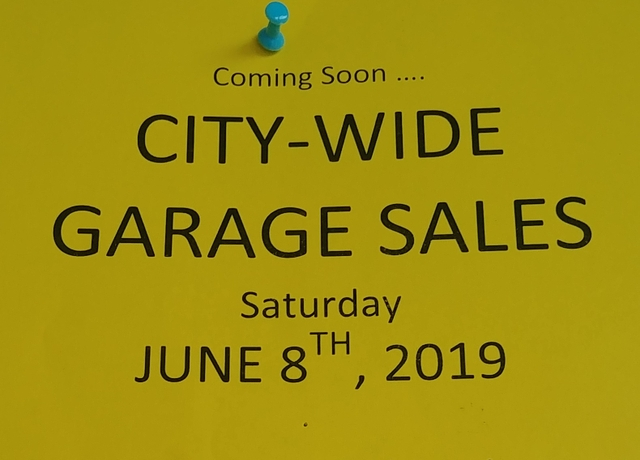 Oxford Nebraska city wide garage sales June 8th - Nex-Tech Classifieds