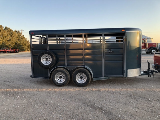 2018 Calico Stock Trailer