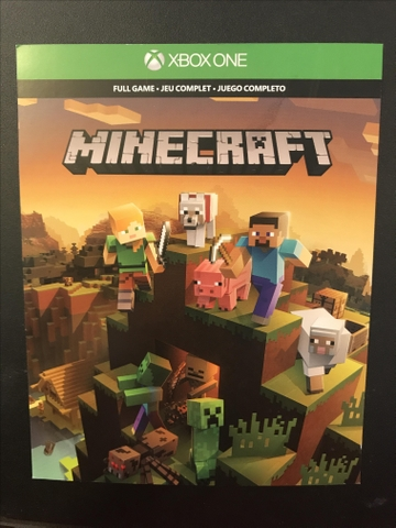Minecraft the game plus add-ons