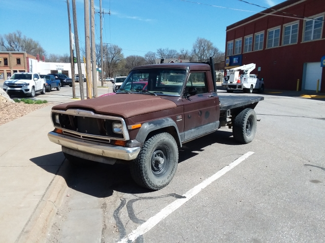 Jeep J20 For Sale >> Sold 1982 Jeep J20