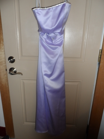 Beautiful Lavender Two Piece Prom Dress Nex Tech Classifieds