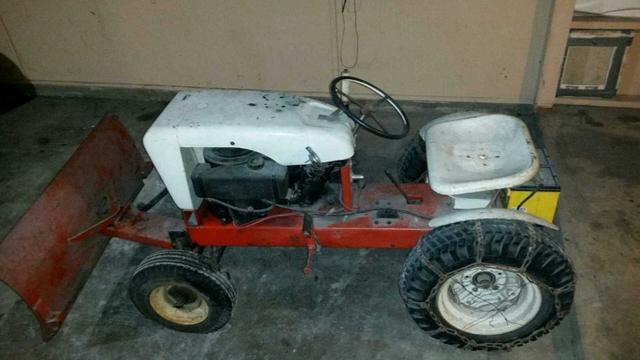 vintage wheel horse lawn tractor