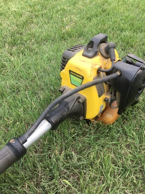 john deere t105s line trimmer manual