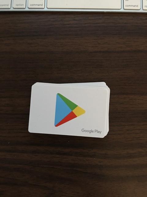 $100 Google Play Cards
