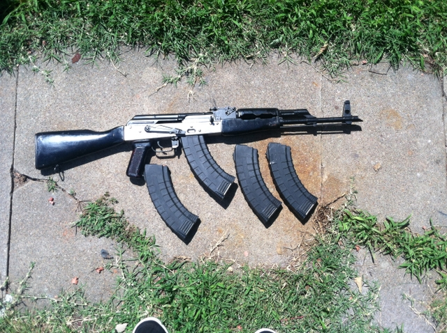 Romanian g ak 47 parts kit