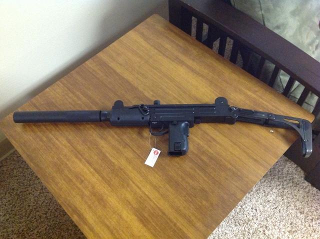 SOLD - Walther IWI UZI Rifle  22 lr with 3 20 round magazines