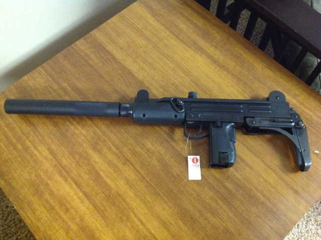 SOLD - Walther IWI UZI Rifle  22 lr with 3 20 round magazines