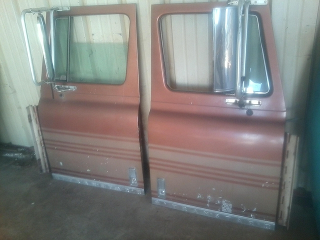 Doors for International Cab Over Semi - Truck Parts