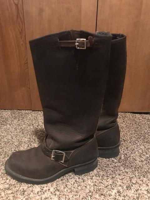 Frye Tall Leather Boots Womens Nex Tech Classifieds