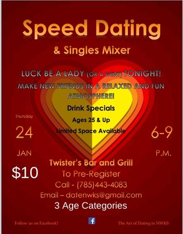 hastighet dating i Kansas