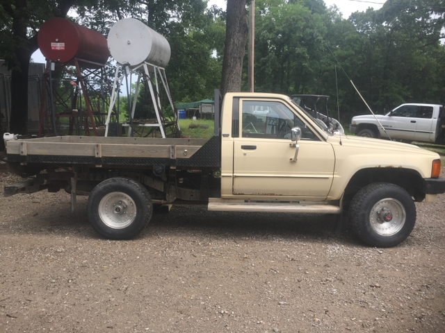 1985 4x4 Toyota Flatbed Truck For Sale Nex Tech Classifieds