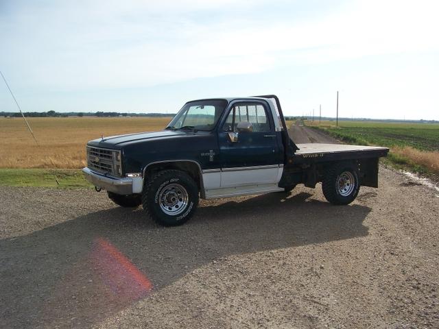 1986 chevy k20 6.2 diesel