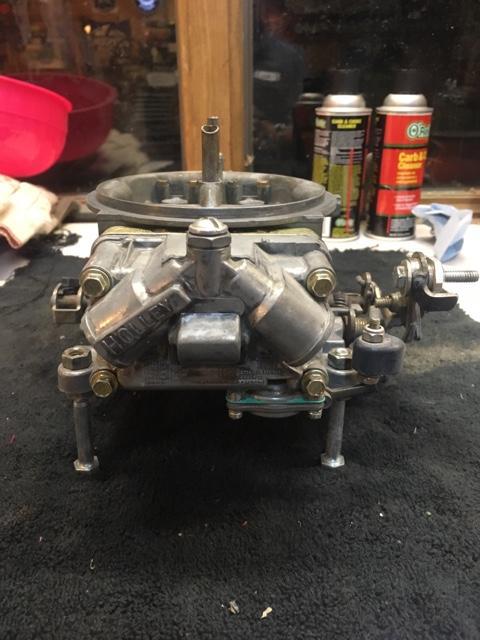 Holley 4150 HP 650 cfm carburetor