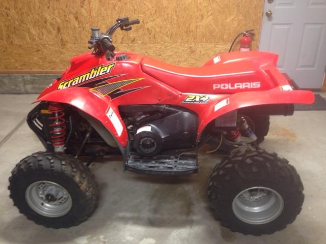 SOLD - 2000 Polaris Scrambler 400 2x4