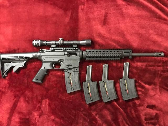SOLD - Mossberg 715T 22 rifle