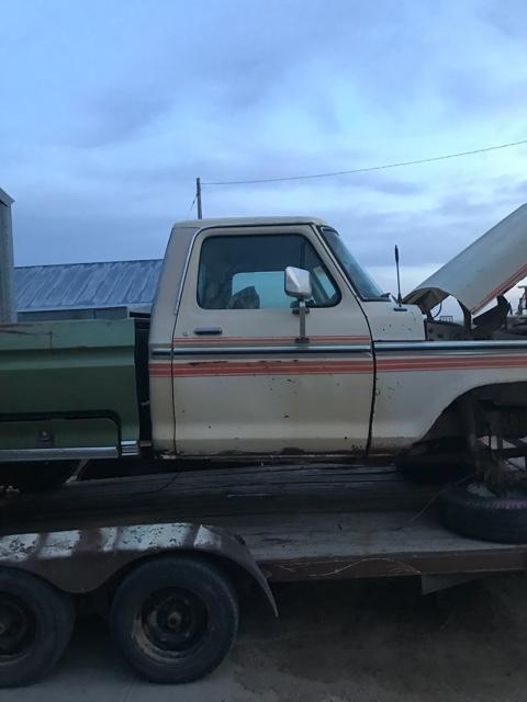 73 79 Ford Highboy Parts Truck
