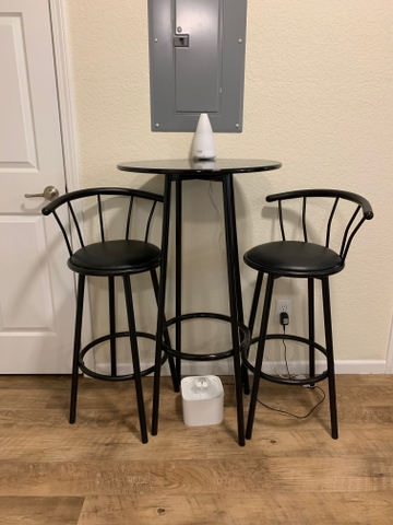 Astonishing Small Tall High Rise Black Table And Chairs Reduced Ocoug Best Dining Table And Chair Ideas Images Ocougorg