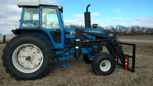 SOLD - Ford 8530 Tractor w/ Westendorf Loader