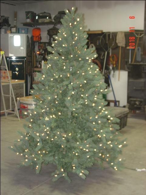 7.5 Foot Pre-lit Sequoia Pine Artificial Christmas Tree - Nex-Tech  Classifieds - 7.5 Foot Pre-lit Sequoia Pine Artificial Christmas Tree - Nex-Tech