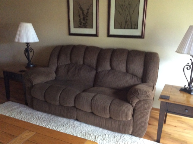 SOLD - Lazy Boy Recliner Couch