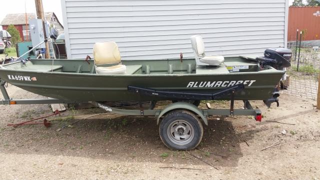 2007 Alumacraft 14ft Jon boat for sale. - Nex-Tech Classifieds