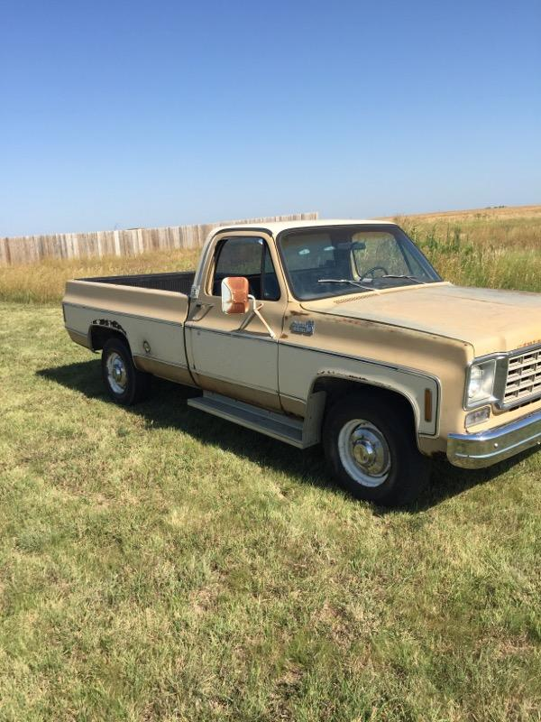 Sold 1975 Chevy C20 Updated