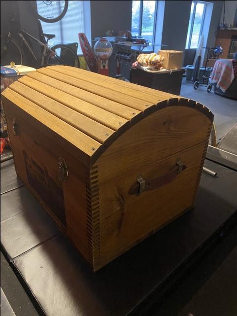 Ducks Unlimited - Wood Chest - Nex-Tech Classifieds