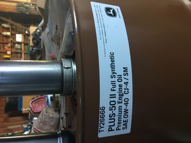 SOLD - John Deere 0W-40 plus 50 2 full synthetic engine oil