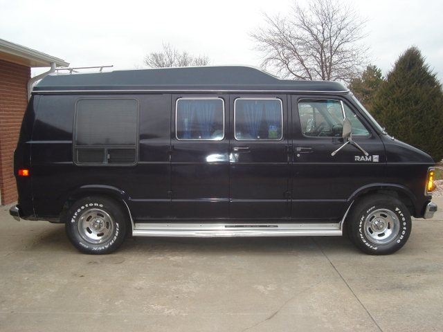 Dodge Conversion Van >> Sold 1983 Dodge Ram Hi Top Conversion Van