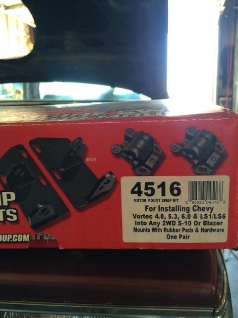 SOLD - S10 LS swap parts