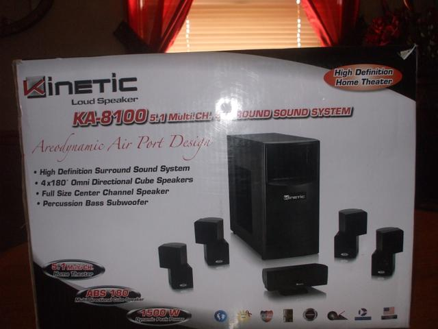 Kinetic Ka 8100 5 1 Multi Ch Surround Sound System Nex